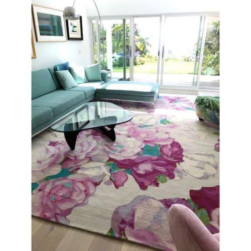 Rugs by Emma Gardner Design, LLC - BED OF ROSES (custom)