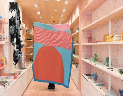 Linens & Bedding by Molly Fitzpatrick seen at Papersmiths, London - For You throw Blanket