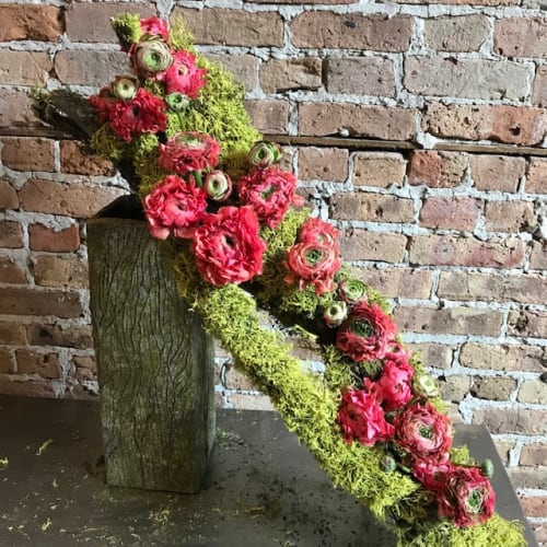 Floral Arrangements by EPOCH FLORAL seen at New York, New York - Downward Dawg