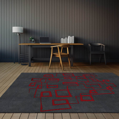 Rugs by Lucy Tupu Studio seen at Private Residence, New York - Kepler - Rug