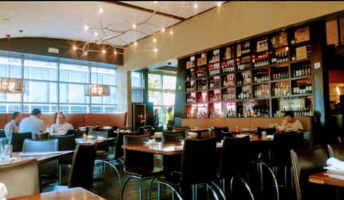 Chandeliers by CP Lighting seen at Via Vite, 520 Vine Street, Cincinnati, OH, USA, Cincinnati - newGROWTH Chandelier