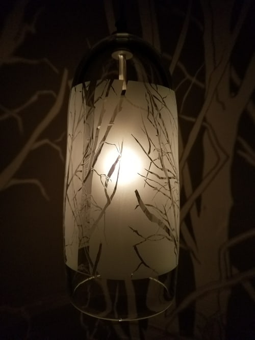 Pendants by Jess Wainer at Private Residence, Atherton - Tree Lantern