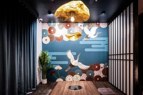 Interior Design by Studio Hiyaku seen at Choji Yakiniku, Chatswood - Choji Yakiniku Omakase VIP