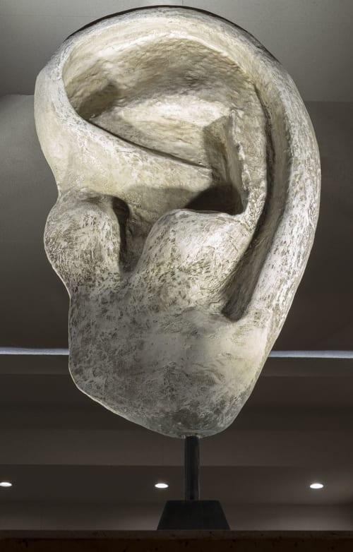 Sculptures by Ronna Nemitz seen at FOUND:RE Phoenix Hotel, Phoenix - Listening