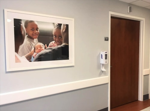 Interior Design by Art Solutions seen at New York, New York - Healthcare Facility, Maternity