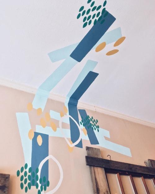 Murals by Rebecca Volynsky seen at Piccolo, Portland - Piccolo Mural