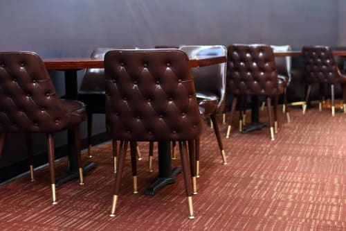 Chairs by Richardson Seating Corporation seen at 10pin Bowling Lounge, Chicago - Club Chair - 3528