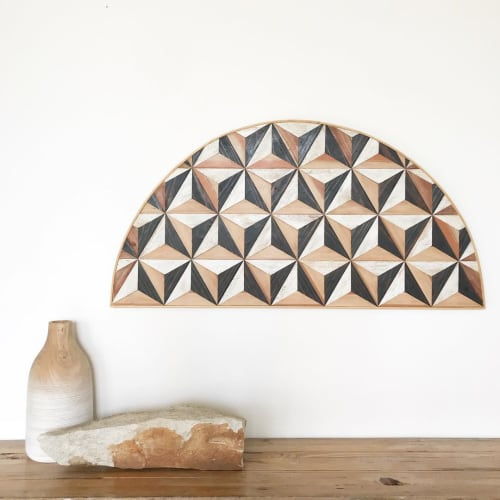 Wall Hangings by Nicole Sweeney seen at Private Residence, San Francisco - Curved Edge Piece Wall Hanging