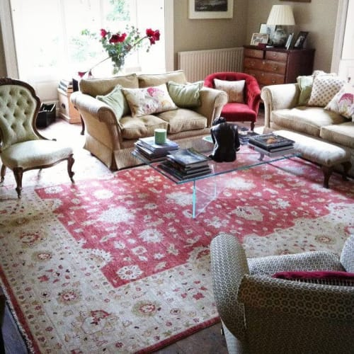 Rugs by Rugs of Petworth seen at Private Residence - Sultanabad Carpet