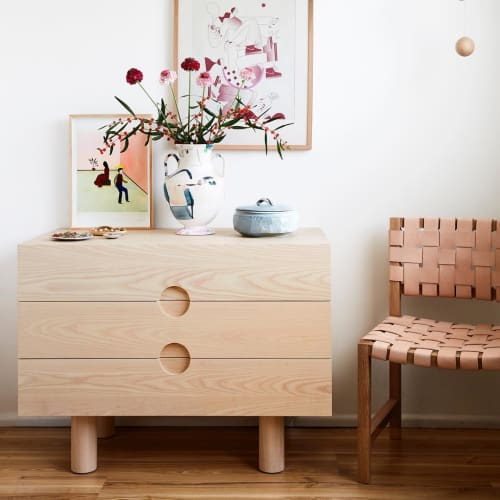 Furniture by Softer Studio seen at Private Residence, Melbourne - 3 Drawer Dresser
