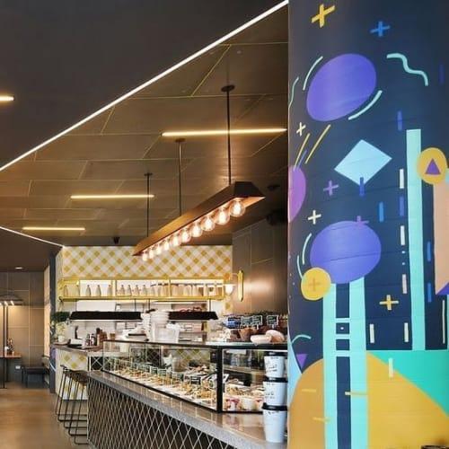 Pendants by ILANEL DESIGN STUDIO seen at Street Kitchen Co., Docklands - Counter Light Fixture