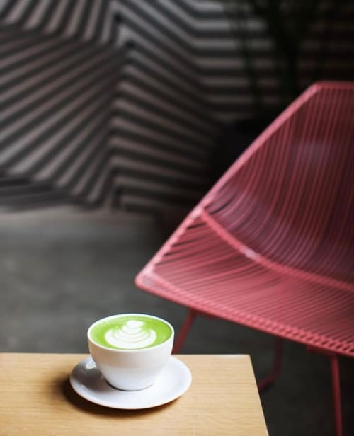 Cups by notNeutral seen at Coffeehall Arts District, Los Angeles - MENO Latte