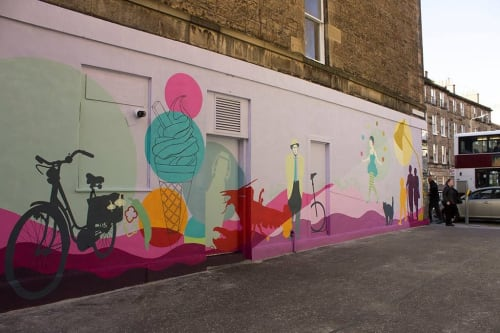 Kate George Design - Street Murals and Murals