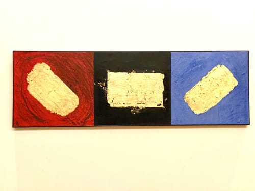 Paintings by james azzarello seen at Private Residence, Beacon - Life, Death and Eternity