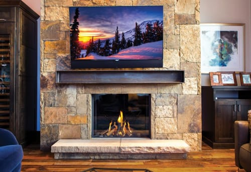 Fireplaces by European Home seen at Private Residence, Breckenridge - Modore 100H