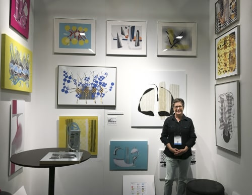 Art & Wall Decor by Lee Brock Art and Graphic Designs seen at Greater Fort Lauderdale / Broward County Convention Center, Fort Lauderdale - ICFF South Florida 2018