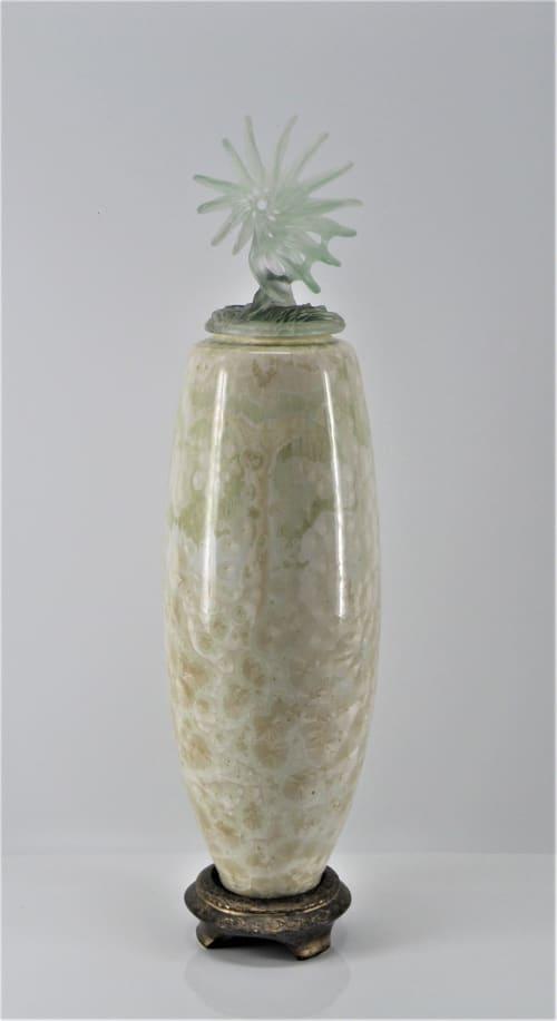 Vases & Vessels by Debra Steidel seen at Steidel Fine Art, Wimberley - Time Traveler