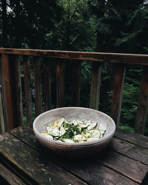 Tableware by Natasha Alphonse Ceramics seen at Coffee Cabin, Puyallup - Ceramic Bowl