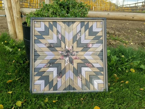 Art & Wall Decor by Blind Creek Craft Co. seen at Creator's Studio, Fort St. John - Barn Quilt