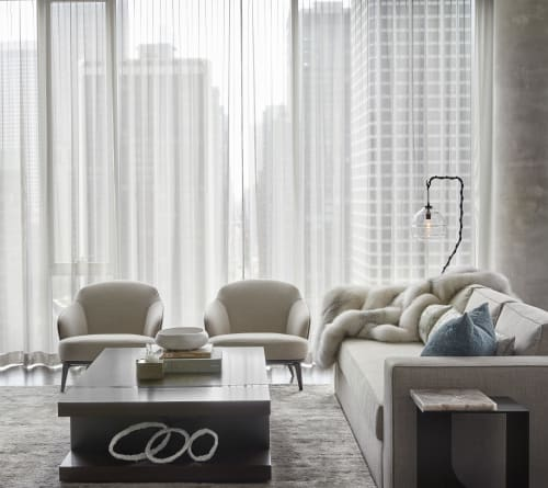 Interior Design by David Grout, Gary Lee Partners seen at Private Residence, Chicago - Luxury Chicago Condo
