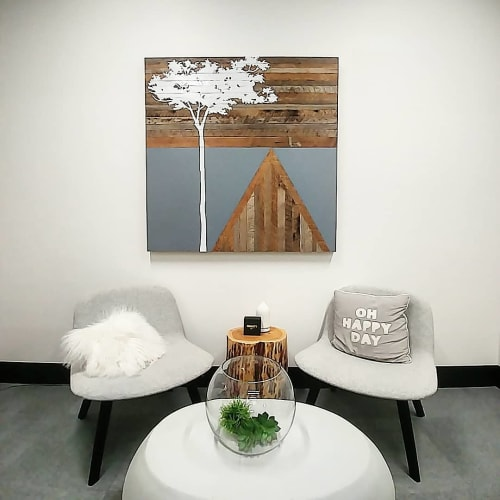 Paintings by Christopher Original at Nike World Headquarters, Beaverton - Acacia Painting