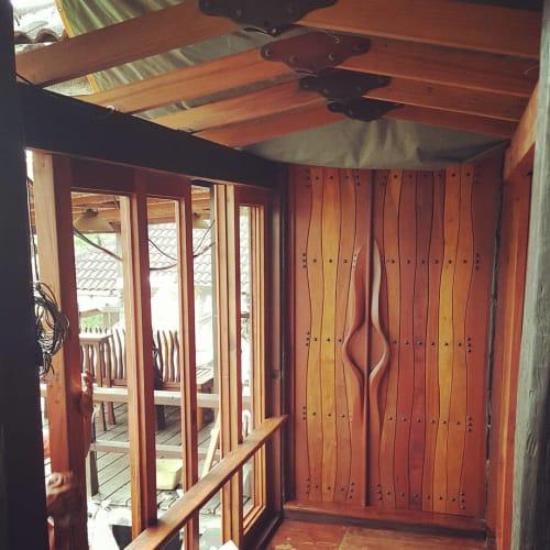 Furniture by Benji Reyes seen at Tahanan Bistro, Antipolo - Full Sliding Window