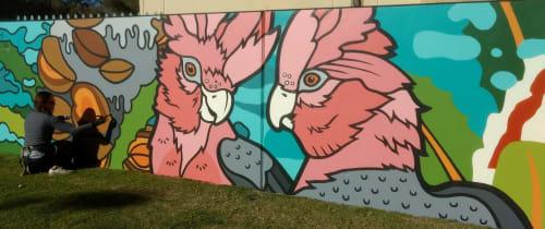 Mel McVee - Street Murals and Public Art