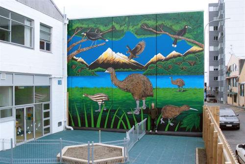 Mahalski - Street Murals and Murals