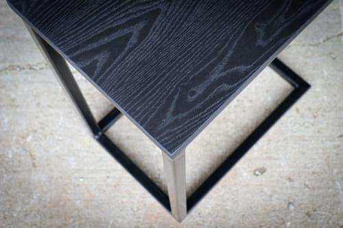 Tables by Hazel Oak Farms - Black Industrial C-table
