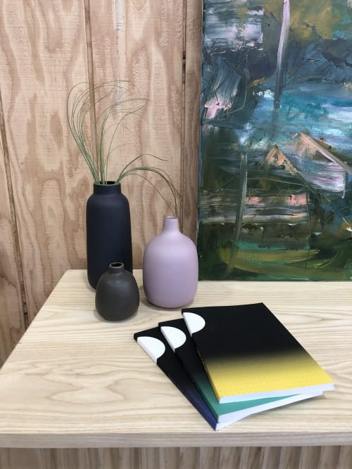 Art & Wall Decor by Leora Lutz seen at Bay Area Made x Wescover 2019 Design Showcase, Alameda - Sun/Moon Ombre bullet journals