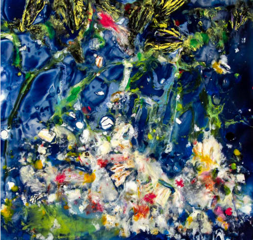 Paintings by Lisa Butters - Nightgarden