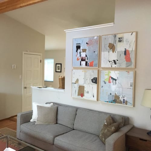 Paintings by Bibby Art seen at Private Residence, Saint Helena - Painting
