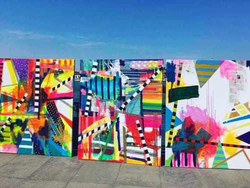 Clare OConnor - Street Murals and Paintings