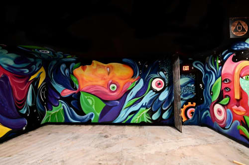 Murals by Ashley Macias seen at 3343 N 7th Ave, Phoenix - Splash
