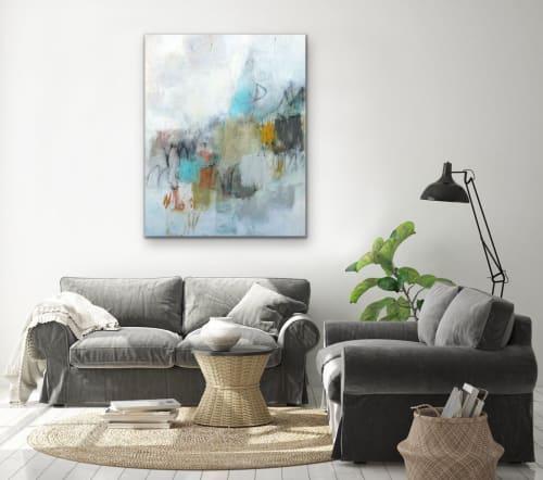 Paintings by Julie Schumer seen at Creator's Studio, Santa Fe - Stillness