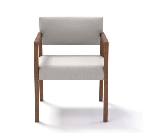 Chairs by Coriander Designs seen at Attune Health: Dr. Daniel J. Wallace, MD, Dr. Swamy Venuturupalli, Beverly Hills - Kelsey Side Chairs