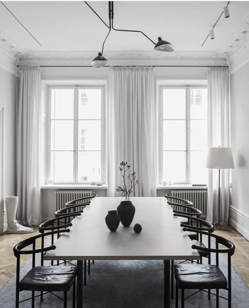 Interior Design by Enriqueta Cepeda seen at Private Residence, Stockholm - Private home