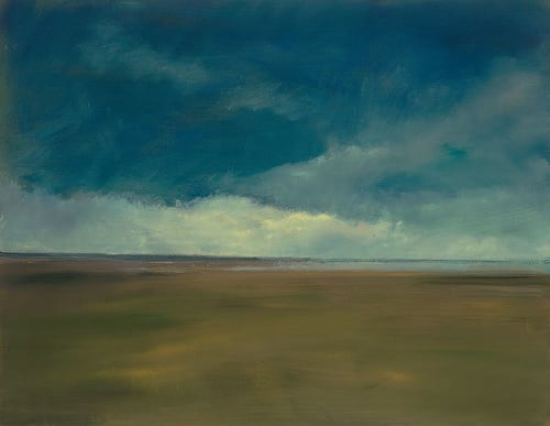 "Art & Wall Decor by YJ Contemporary seen at East Greenwich, East Greenwich - Anne Packard ""Stormy Beach"""