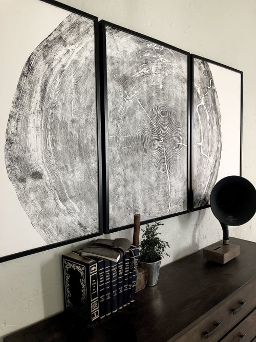 Art & Wall Decor by Erik Linton seen at Private Residence, Hyrum - Sitka Spruce Tree