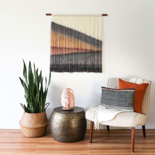 Macrame Wall Hanging by Kelsey Cerdas Art seen at Private Residence - Santa Cruz, CA, Santa Cruz - Adele- BOHO Wall Hanging