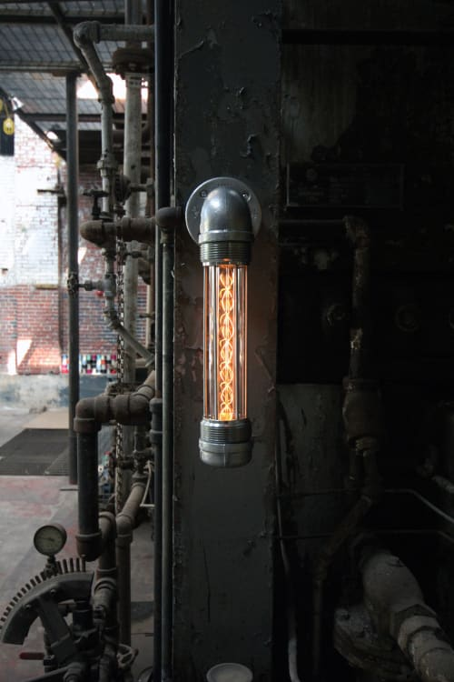 Sconces by Pandemic Design Studio seen at Philadelphia, Philadelphia - The Glow Worm