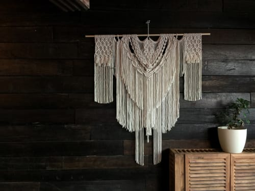 CJ - Macrame Wall Hanging and Art