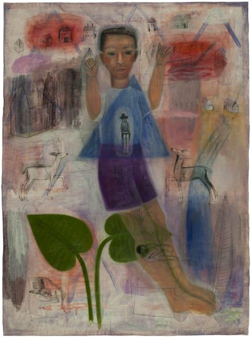 Paintings by Joanne Hammer at Vashon Island Studio, Vashon - Studio