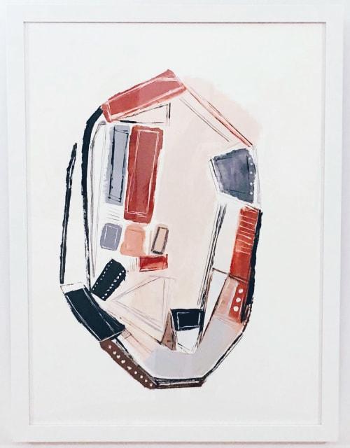 Paintings by Melanie Biehle seen at Seattle, Seattle - Fault Lines