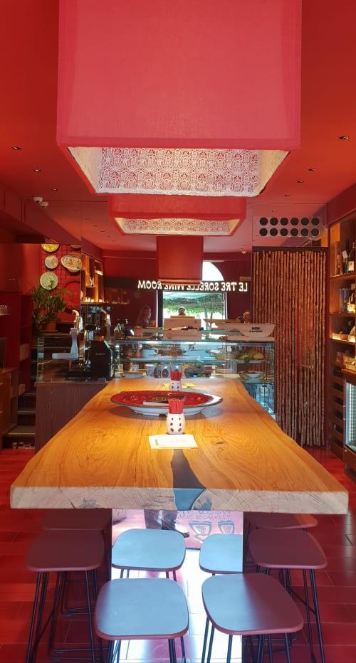Architecture by GRANESE ARCHITECTURE&DESIGN seen at Le Tre Sorelle Wine Room, Positano - Le tre sorelle, wineroom