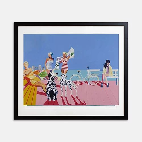 Art & Wall Decor by Ruth Mulvie seen at This Girl Loves Color - Amalfi