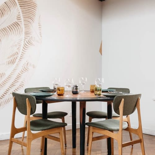 Tables by Lex Stobie seen at Restaurant Orana, Adelaide - Orana Table