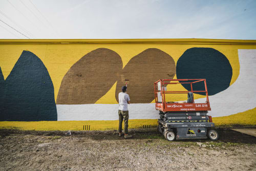 Street Murals by Cody Hudson seen at Fort Smith, Fort Smith - Unexpected 2018 Mural