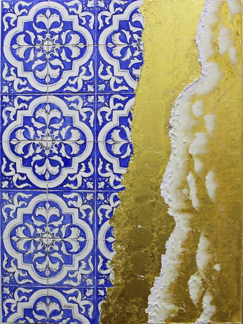 Paintings by Salvatore Battaglia seen at Private Residence, London - Sicily