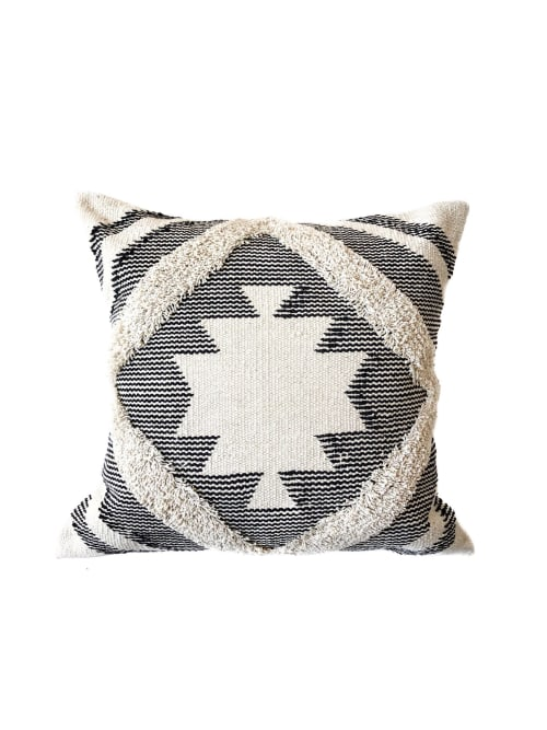 Pillows by Coastal Boho Studio seen at Destin, Destin - Serene Kilim Pillow Cover